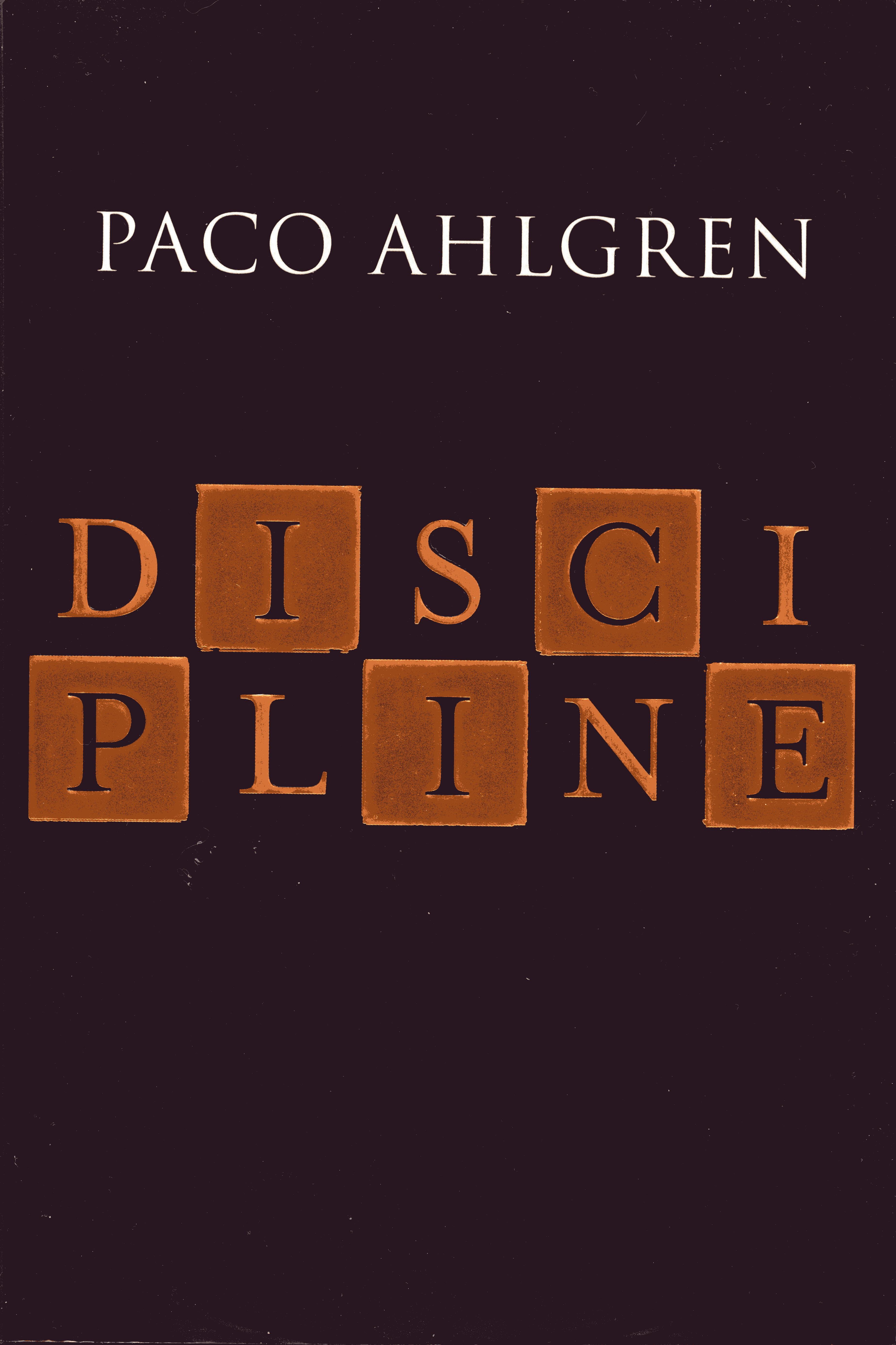 Image for Discipline: A Novel