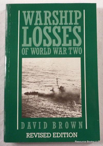 Warship Losses of World War Two, Brown, David