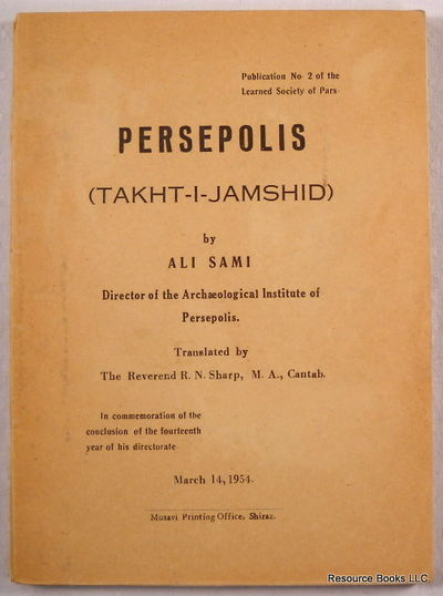 Persepolis (Takht-I-Jamshid), Ali Sami