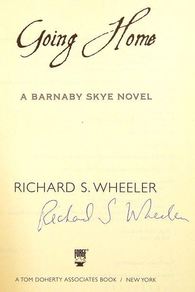 Going Home, Wheeler, Richard S.