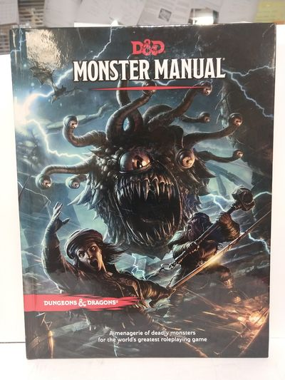 Image for Dungeons and Dragons Monster Manual (Core Rulebook, DD Roleplaying Game) (DD Core Rulebook)