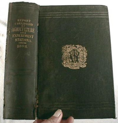 Twenty-Seventh Annual Report of the Secretary of the Connecticut Board of Agriculture for 1893, Connecticut Agriculture