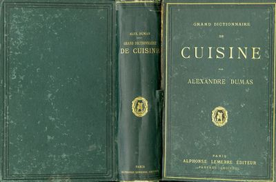 Vialibri 831808 rare books from 1873 for Alexandre dumas grand dictionnaire de cuisine 1873