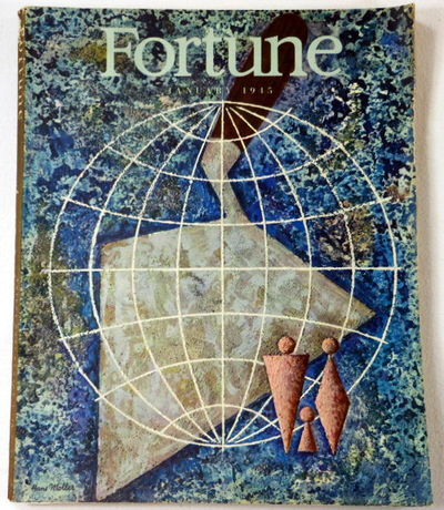 Fortune Magazine. January 1945. Volume XXXI, Number 1, Fortune Magazine. Edited By Henry R. Luce