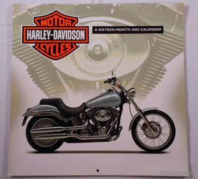 Harley-Davidson Motor Cycles: A Sixteen-Month 2002 Calendar, Harley-Davidson Motorcycles