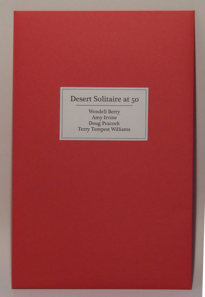 Image for Desert Solitaire at 50: Four Broadsides