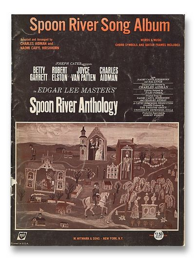 Spoon River Song Album, Aidman, Charles & Naomi Caryl Hirshhorn