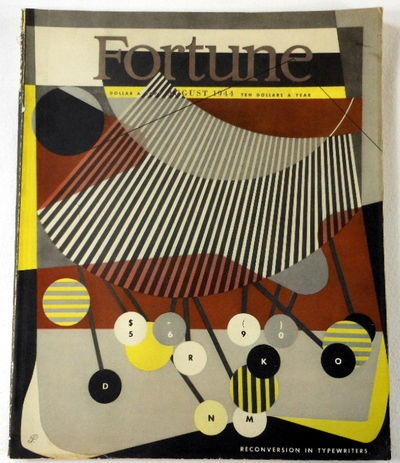Fortune Magazine. August 1944. Volume XXX, Number 2, Fortune Magazine. Edited By Henry R. Luce