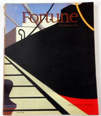 Fortune Magazine. November 1944. Volume XXX, Number 5, Fortune Magazine. Edited By Henry R. Luce