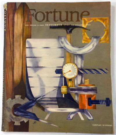 Fortune Magazine. September 1944. Volume XXX, Number 3, Fortune Magazine. Edited By Henry R. Luce