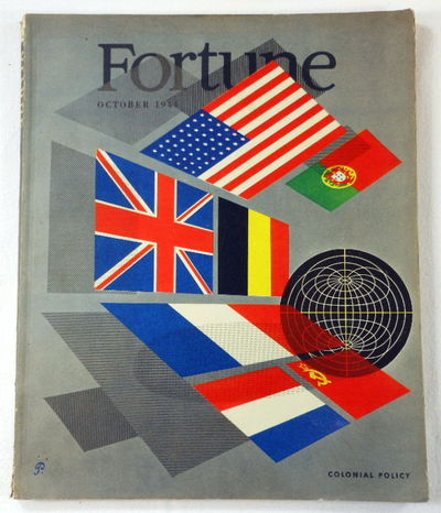 Fortune Magazine. October 1944. Volume XXX, Number 4, Fortune Magazine. Edited By Henry R. Luce