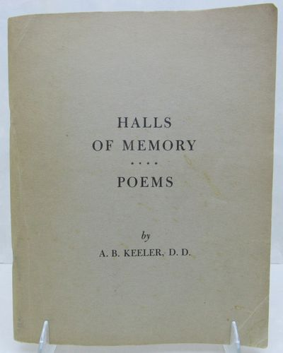 Image for Halls of Memory. Poems. Based on true life incidents.