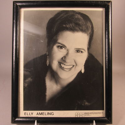 Image for Autographed photograph of Elly Ameling