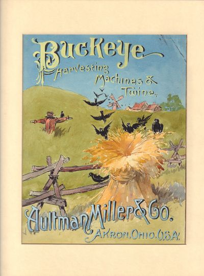 Image for Buckeye Harvesting Machine & Twine Altman Miller & Co., Akron, Ohio. U.S.A.