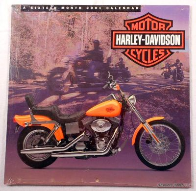 Harley-Davidson Motor Cycles: A Sixteen-Month 2001 Calendar, Harley-Davidson Motorcycles