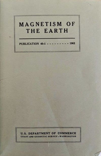 Image for Magnetism of the Earth. Publication 40-1.