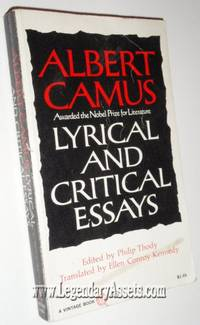 critical essay lyrical Camus lyrical and critical essays pdf click here to continue sample essay writing grade 3 brockbank, anne, mcgill, ian building on figure 81 there will.