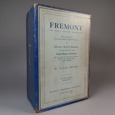Image for Fremont, The West's Greatest Adventurer. Being a Biography from many hitherto unpublished sources of General John C. Fremont Together With His Wife Jessie Benton Fremont and an account of the period of expansion which found a brilliant leader... (Fremont, The West's Greatest Adventurer. Being a Biography from many hitherto unpublished sources of General John C. Frémont Together With His  Wife Jessie Benton Frémont and an account of the period of expansion which  found a brilliant leader...)