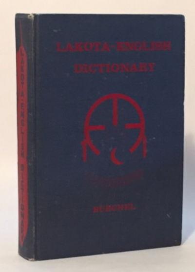 Lakota-English Dictionary, Buechel, Eugene