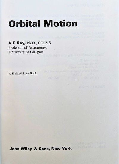 Image for Orbital Motion.