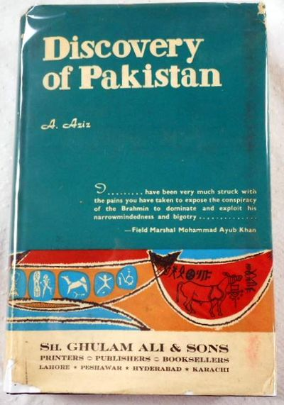 Discovery of Pakistan, A. Aziz