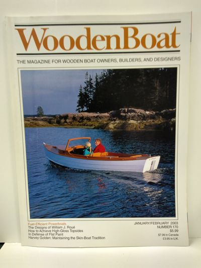 Image for Wooden Boat Magazine January February 2003 Number 170