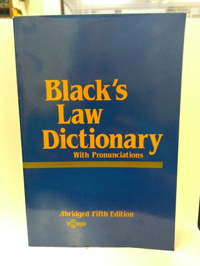 Image for Black's Law Dictionary: Abridged Fifth Edition