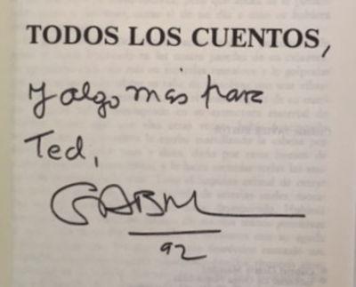 Todos los Cuentos [Collected Stories], García Márquez, Gabriel