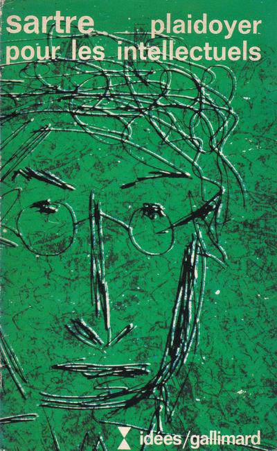PLAIDOYER POUR LES INTELLECTUELS., Sartre, Jean-Paul.