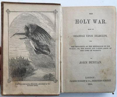 The Holy War, made by Shaddai upon Diabolus: for regaining the metropolis of the world; or, The losing and taking again of the town of Mansoul., BUNYAN, John (1628-1688).