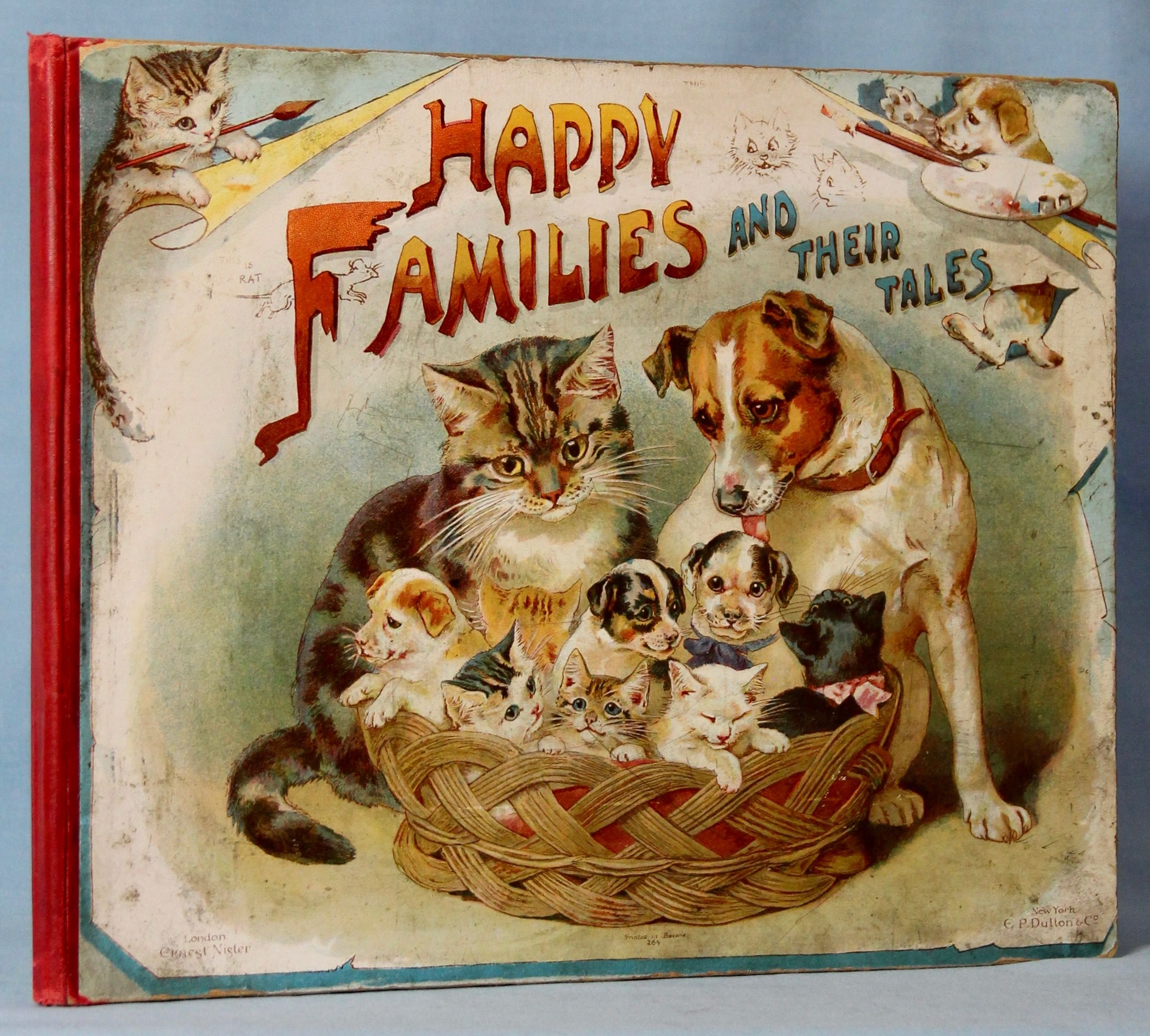 Image for Happy Families and Their Tales: a Volume of Pictures and Stories of Domestic Pets