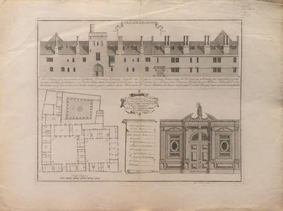 Image for Collegium Lincolniense [engraving] Hoc collegium per auspicatum a Richardo Flemming Episcopo Lincoln. [from Oxonia depicta]