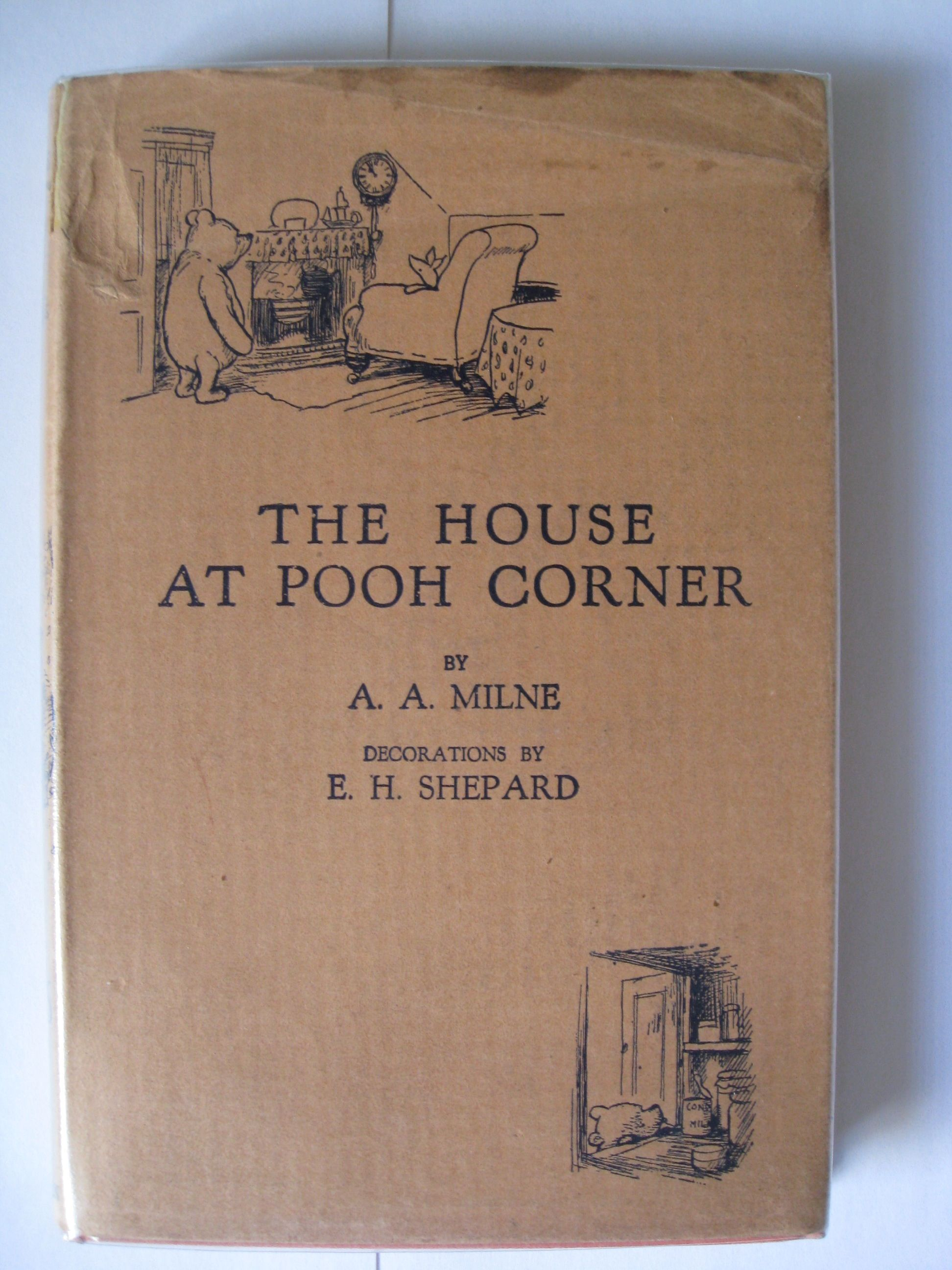 The House At Pooh Corner By A A Milne First Edition