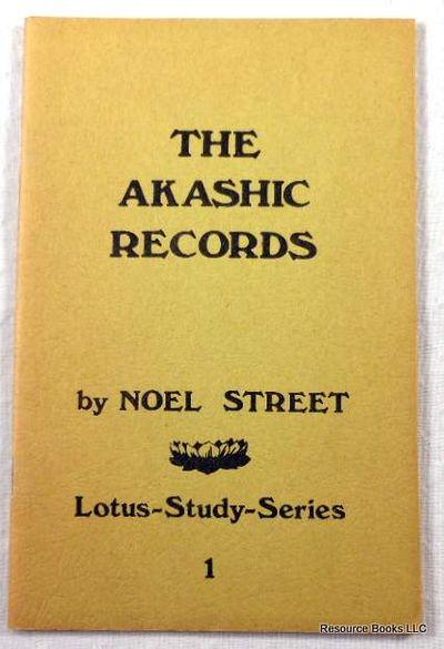 The Akashic Records.  Lotus-Study-Series 1, Street, Noel