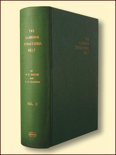 The Llanoria Structural Belt   Vols & I II, Woods, Raymond Douglas & Masson, Peter H.
