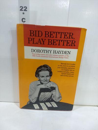 Image for Bid Better, Play Better