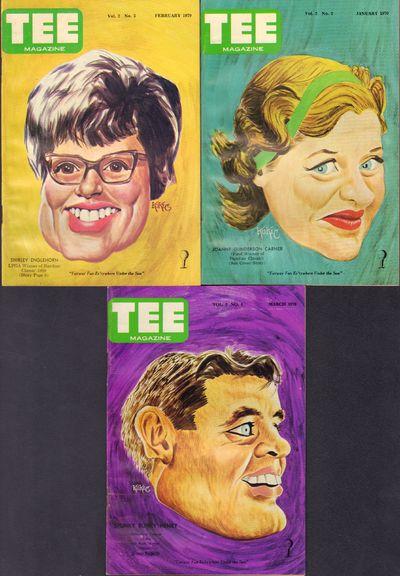 Image for TEE Magazine Vol. 1 #1 October 1968 - #7 April 1969; Vol. 2 #1 December  1969 - #4 March 1970