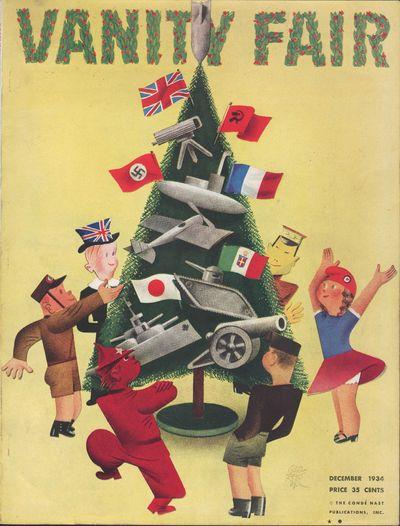 Image for Vanity Fair Magazine, December, 1934 - Cover Only