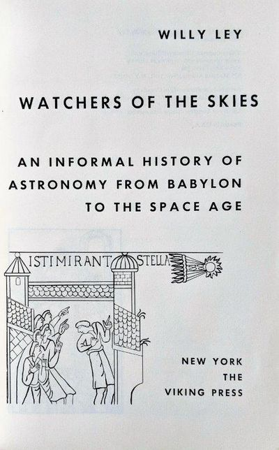 Image for Watchers of the Skies.