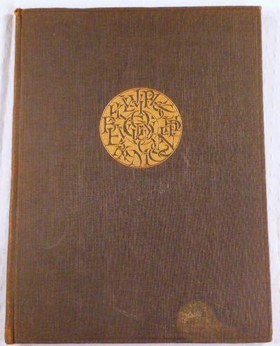 The Alphabet: Fifteen Interpretive Designs, Goudy, Frederic W.