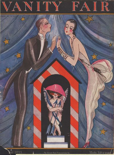 Image for Vanity Fair Magazine, October, 1923, Cover Only