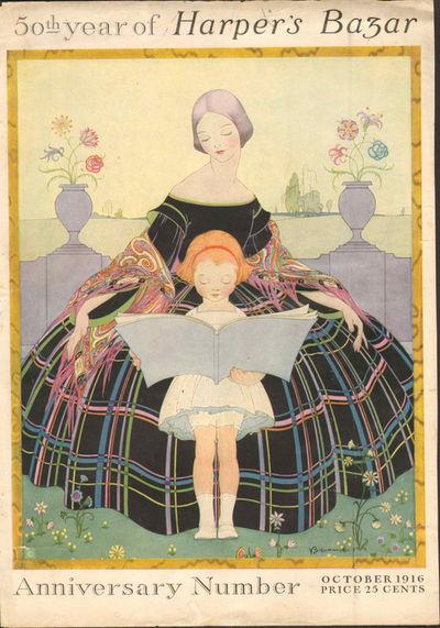 Image for Harpers Bazar (Harper's Bazaar) 1916 July (cover only) (Magazine)