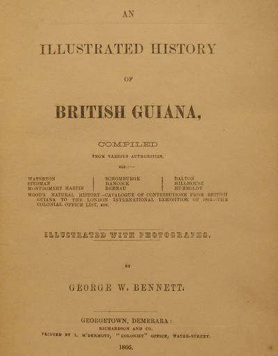 Image for An Illustrated History of British Guiana  compiled from various  authorities, illustrated with photographs