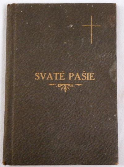 Poradek Svate Pasie, Jako I. v Nedeli Kvetnou; II. Vd Velky Patek