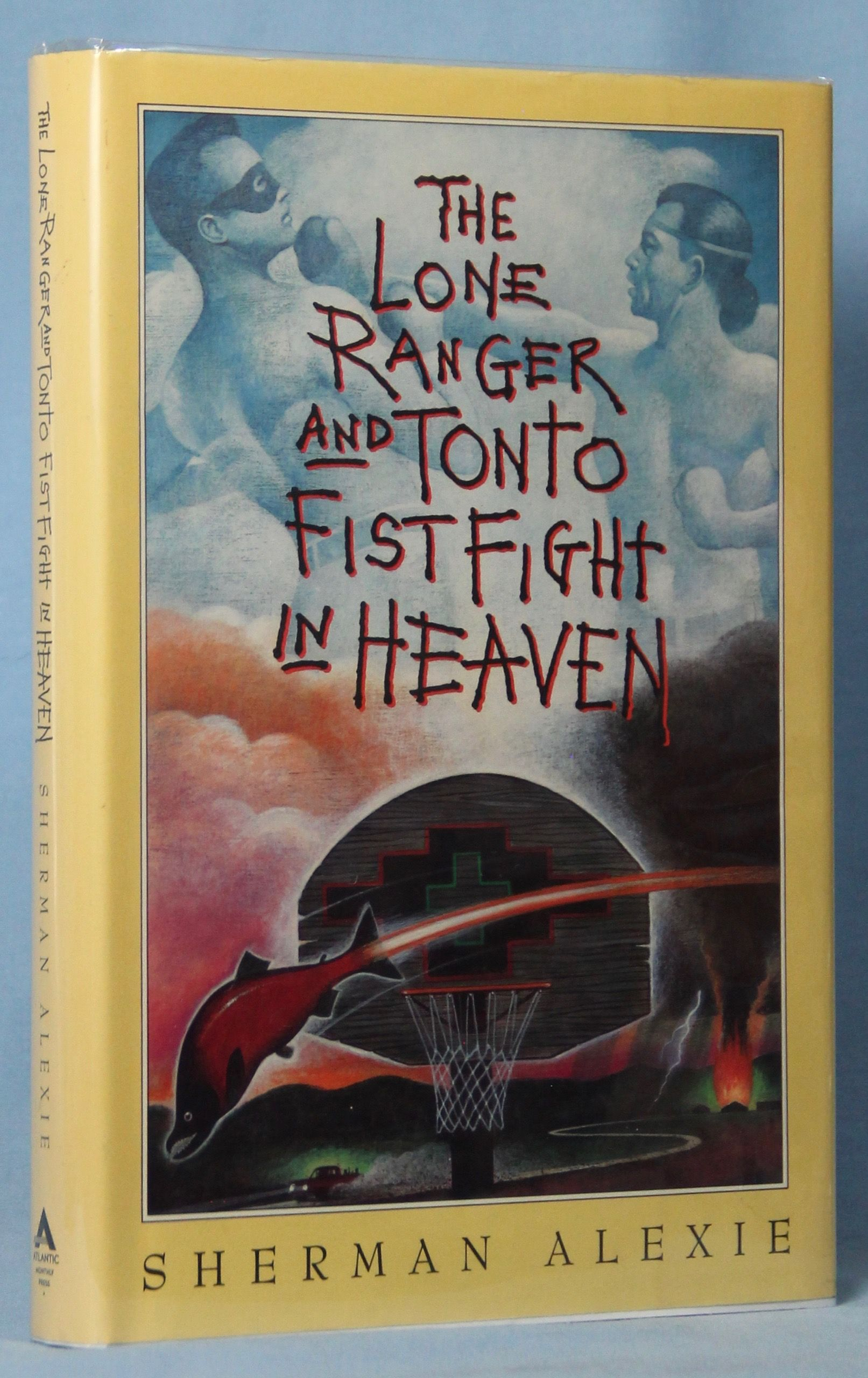 Image for The Lone Ranger And Tonto Fistfight In Heaven (Signed)