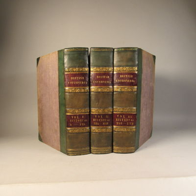 Image for British Cyclopedia.   Of Literature, History, Geography,  Law, and Politics Three volume set.