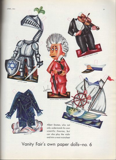 Image for Vanity Fair Magazine, April, 1934