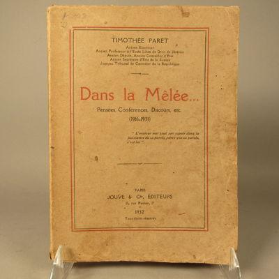 Image for Dans la Melee Pensees, Conferences, Discours, etc. (1916-1931)