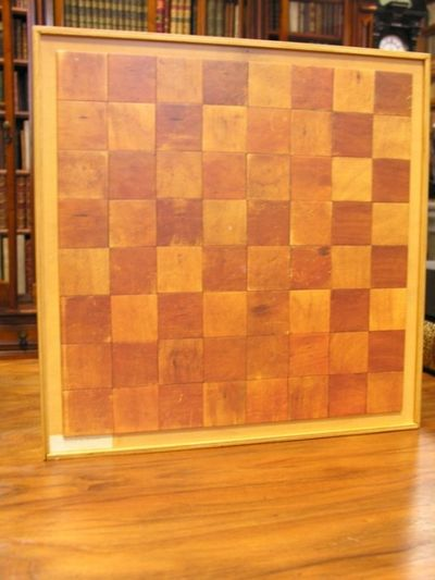 Image for Wooden box with multiples.