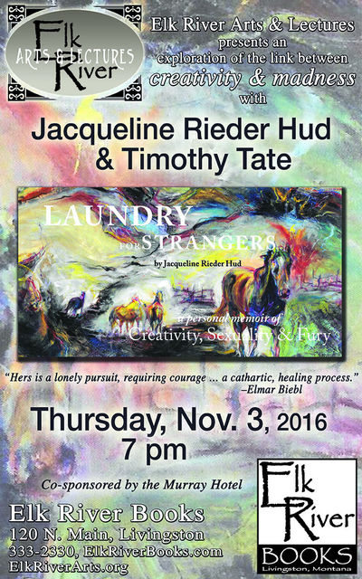 "Jacqueline Rieder Hud and Timothy Tate ""Laundry for Strangers"" Poster, 03 November 2016, Hud, Jacqueline Rieder and Timothy Tate"